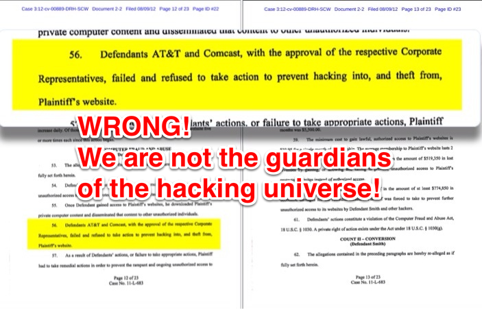 We are not guardians of the hacking universe!