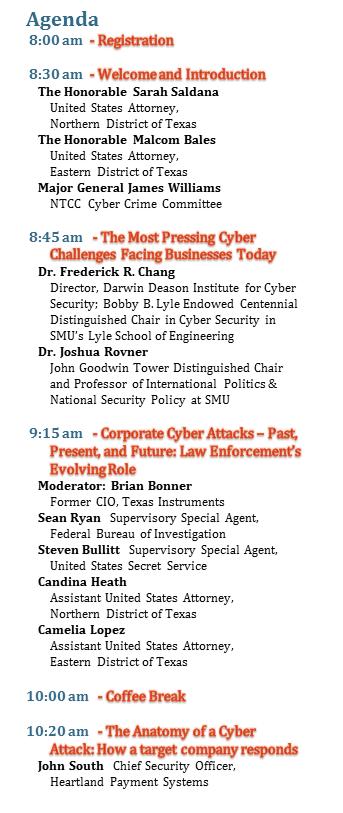 NTCC Cyber Security Seminar