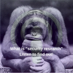 "What is ""security research""?"