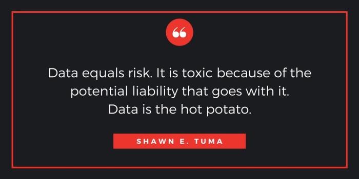 Data is the hot potato!